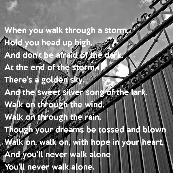 Gerry And The Pacemakers - You'll Never Walk Alone Lyrics ...