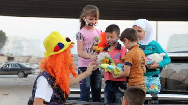 The Clown of Aleppo