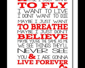 Images of Live Forever Lyrics - #rock-cafe