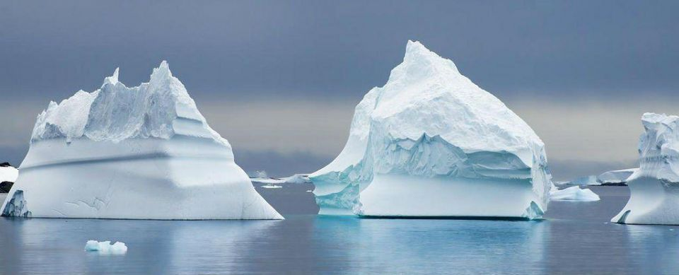 Here comes the iceberg