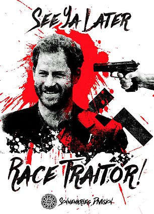 See ya later race traitor. The march of the far right.